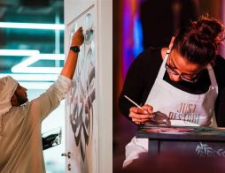 'Hope and Positivity' themed DIFC Art Nights begins this Thursday