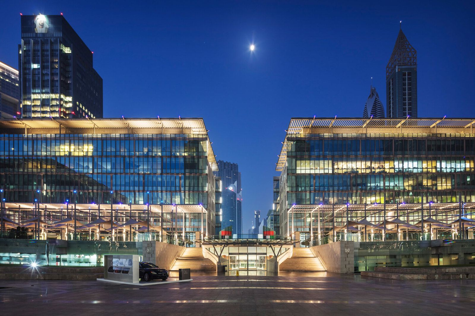 Business Centre in DIFC