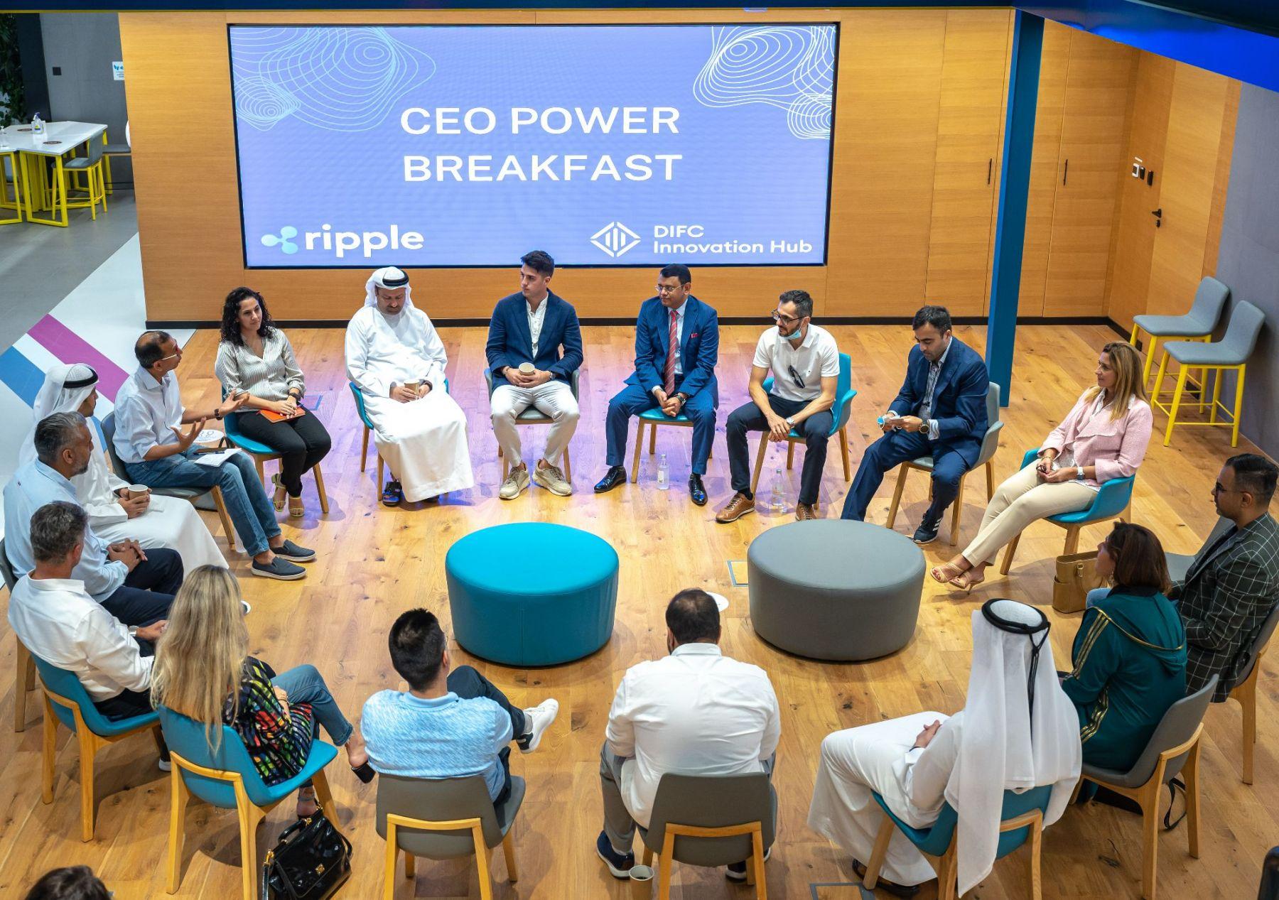 The DIFC CEO Blockchain Breakfast: A snapshot